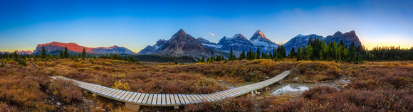 Mt Assiniboine Panorama, British Columbia, Canada