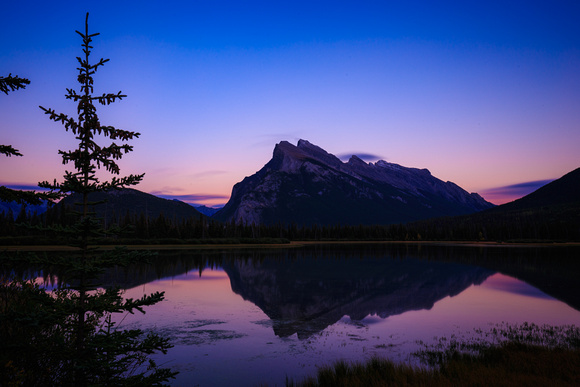 Mt Rundle, Vermillion Lakes, Banff, Canada
